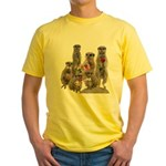 Meerkat Yellow T-Shirt