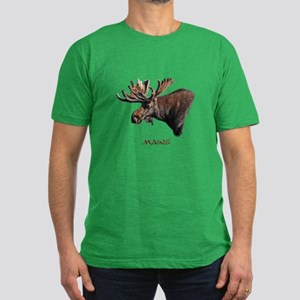 Big Moose Men's Fitted T-Shirt (dark)