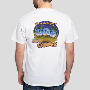 Happy Camper White T-Shirt