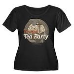 Tampa Tax Day Tea Party Women's Plus Size Scoop Ne