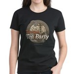 Tampa Tax Day Tea Party Women's Dark T-Shirt