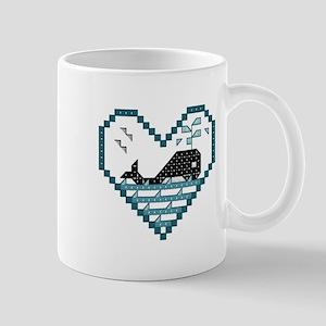 Playful Whale Mug