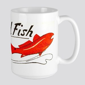 Red Fish Large Mug