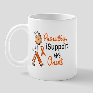 iSupport My Aunt SFT Orange Mug