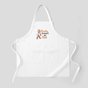 iSupport My Aunt SFT Orange BBQ Apron