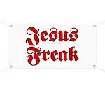 Jesus Freak Christian Banner