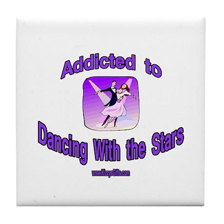 DANCING W/STARS 1 Tile Coaster