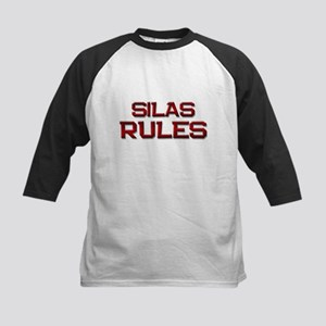 silas rules Kids Baseball Jersey