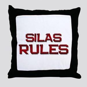 silas rules Throw Pillow