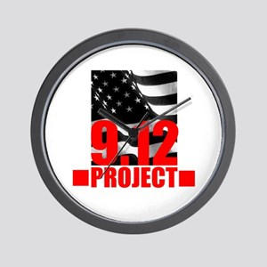 """""""The 9.12 Project"""" Wall Clock"""