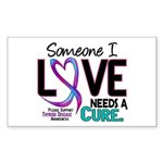 Needs A Cure 2 THYROID DISEASE Rectangle Sticker