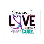 Needs A Cure 2 THYROID DISEASE Mini Poster Print