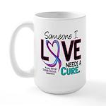 Needs A Cure 2 THYROID DISEASE Large Mug