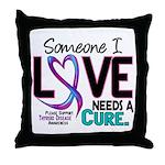Needs A Cure 2 THYROID DISEASE Throw Pillow