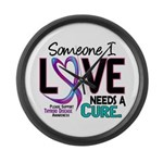 Needs A Cure 2 THYROID DISEASE Large Wall Clock