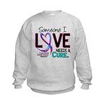 Needs A Cure 2 THYROID DISEASE Kids Sweatshirt