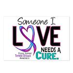 Needs A Cure 2 THYROID DISEASE Postcards (Package