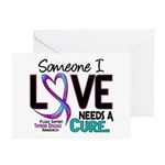 Needs A Cure 2 THYROID DISEASE Greeting Cards (Pk