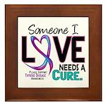 Needs A Cure 2 THYROID DISEASE Framed Tile