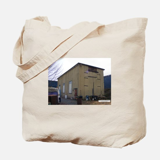 Engine Shed Tote Bag