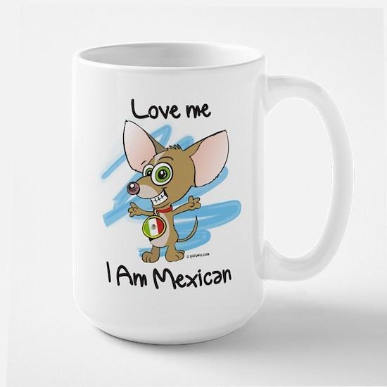 Chihuahua_white_tshirt_loveme_boy Mugs