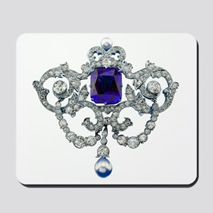 Diamonds Costume Jewelry Mousepad