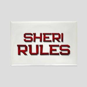 sheri rules Rectangle Magnet