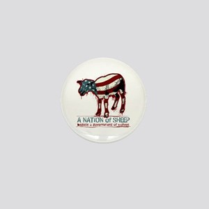 A Nation of Sheep Mini Button