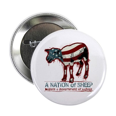 "A Nation of Sheep 2.25"" Button"