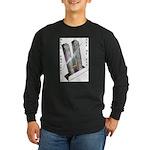 Men's DLTS, Long Sleeve Dark T-Shirt