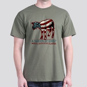 A Nation of Sheep Dark T-Shirt