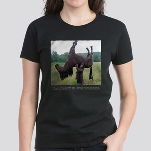 Dex is for Wusses Women's Dark T-Shirt