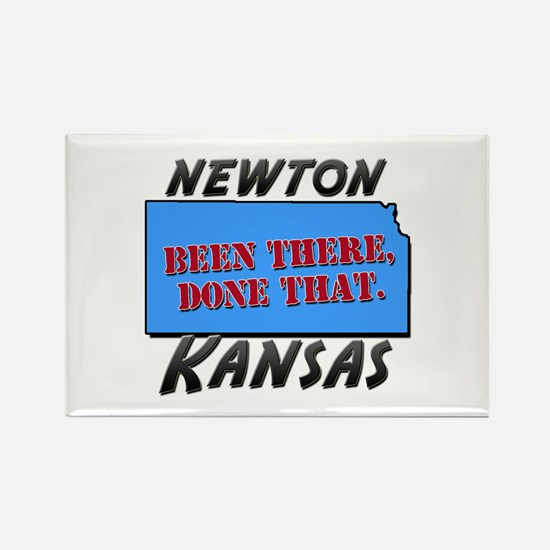 newton kansas - been there, done that Rectangle Ma