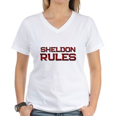sheldon rules Shirt