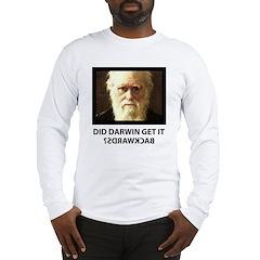 ID Darwin Backwards Long Sleeve T-Shirt