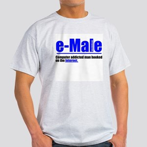 e-Male Ash Grey T-Shirt