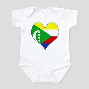 I Love Comoros Infant Bodysuit