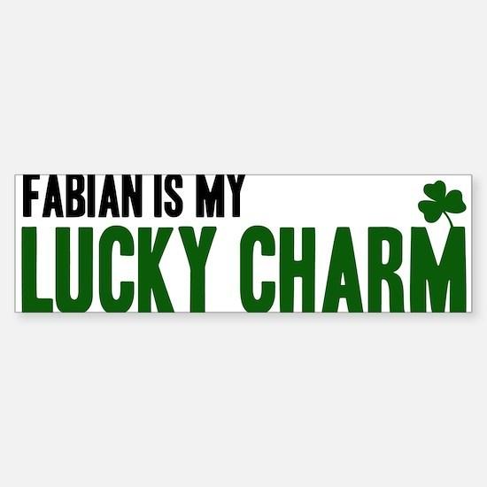 Fabian (lucky charm) Bumper Bumper Bumper Sticker