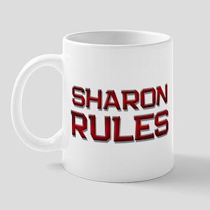 sharon rules Mug