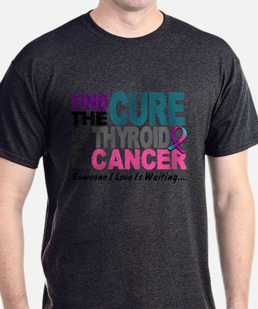 Find The Cure 1 THYROID CANCER T-Shirt