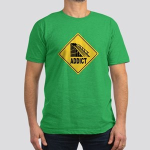 Rollercoaster Men's Fitted T-Shirt (dark)