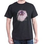 Himalayan Cat Black T-Shirt