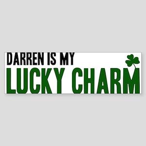 Darren (lucky charm) Bumper Sticker