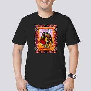 Vintage Jarabe Tapatio Loteri Men's Fitted T-Shirt