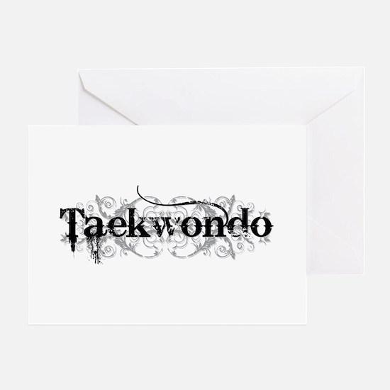 Taekwondo Greeting Card