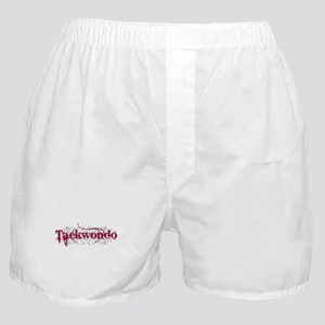 Taekwondo Red Boxer Shorts