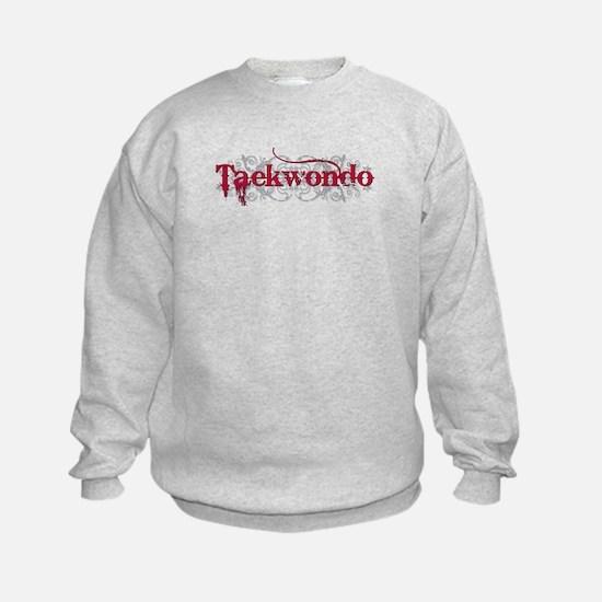 Taekwondo Red Sweatshirt