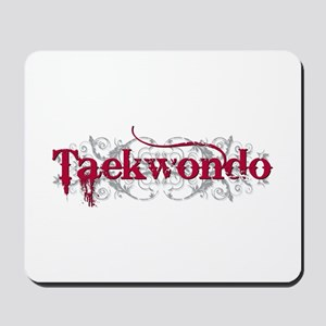 Taekwondo Red Mousepad