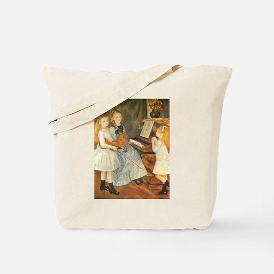 Renoir Daughters of Catulle Mendes Tote Bag