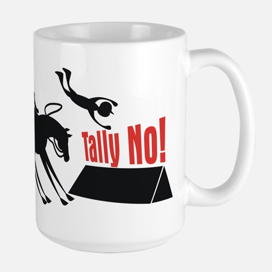"""Tally No!"" Large Mug"